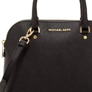 🆕 Michael Kors Cindy Saffiano Dome Satchel